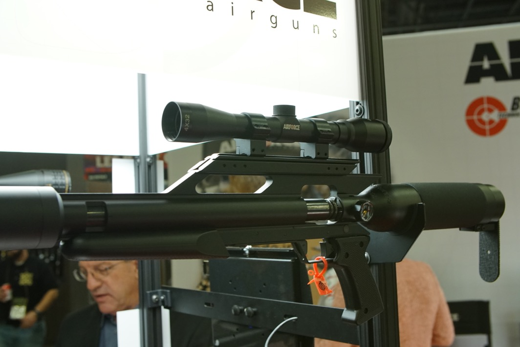 AirForce Airguns' New Suppressed Big-Bore Air Rifles – SHOT Show 2017