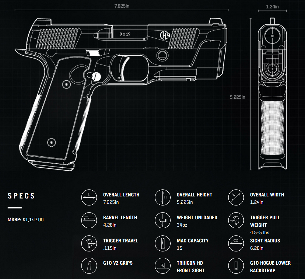 The Hudson Mfg H9 Rethinking Handgun Design Glock 17 Diagram Is Interesting Enough On Paper We Cant Wait To Try Them In Person Photo