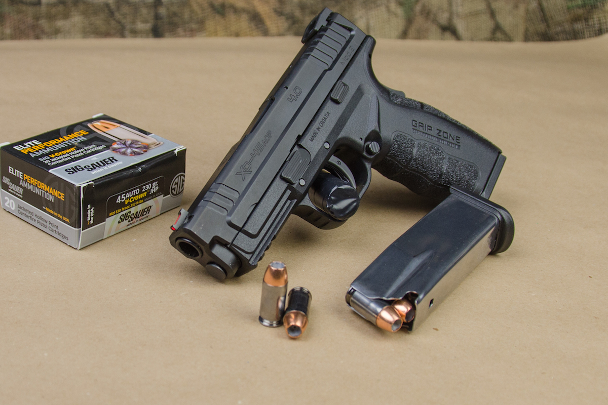 Go Big or Go Home: Springfield's New XD Mod 2 Service in  45
