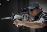 Mid-Evil Industries 360 Degree Vertical Steel Foregrip – Under 8 oz – SHOT Show 2017