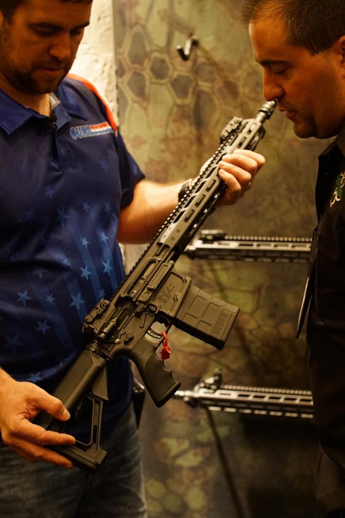 Mega Arms Compact Frame  308 AR - SHOT Show 2017 - GunsAmerica Digest