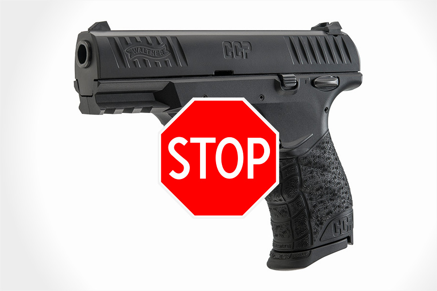 Attention Walther CCP Owners: Important Safety Recall