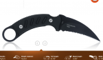 Steel Will's $64 Karambit Knife: 'The Censor'