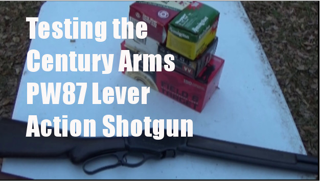Winchester 1887 Lever Shotgun – The $350 Century Arms PW87 Full Review – Cowboy Time Machine