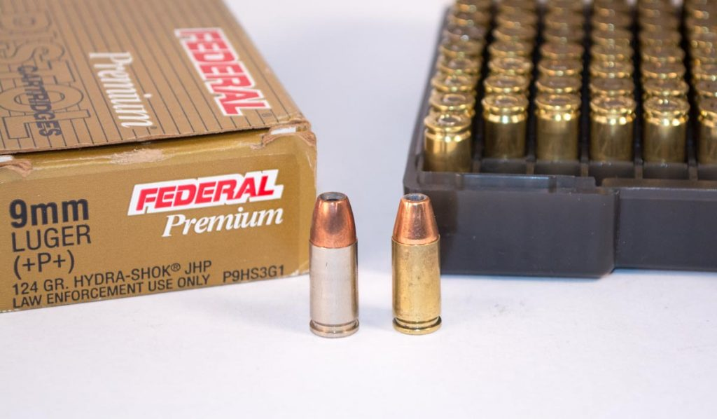 Straight wall pistol cartridges like these use the case rims for headspace, so only a taper crimp can be used.