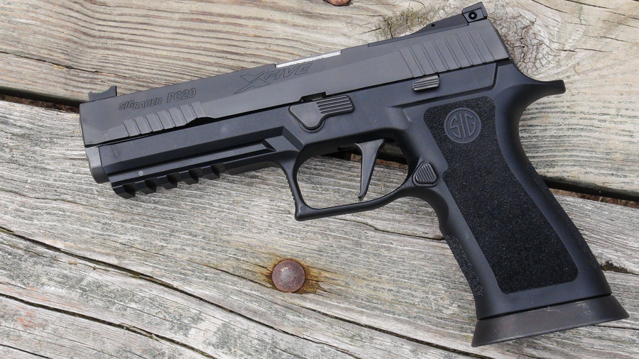 A Mega-Capacity Sig Sauer P320? The 21+1 Full Size X-Five 9mm – Full