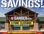 UPDATE: Half of Gander Mountain's Stores Will Close, Huge Liquidation Sale