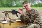 Marine Gunner Dispels Suppressor Myth