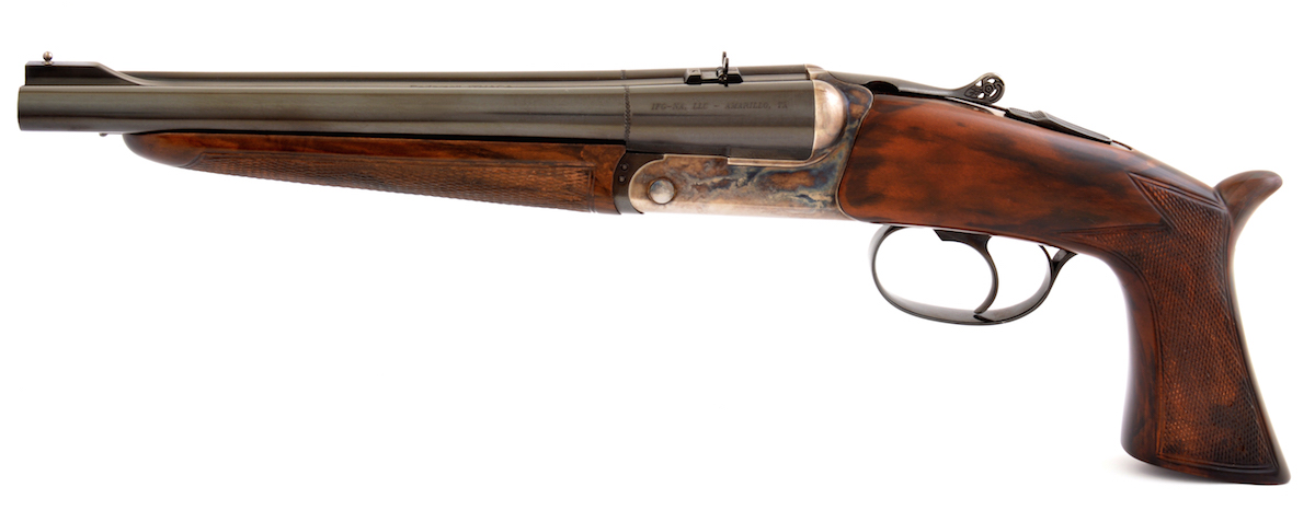 A Street-Legal Shorty Double Barrel? The Pedersoli Howdah  45/ 410