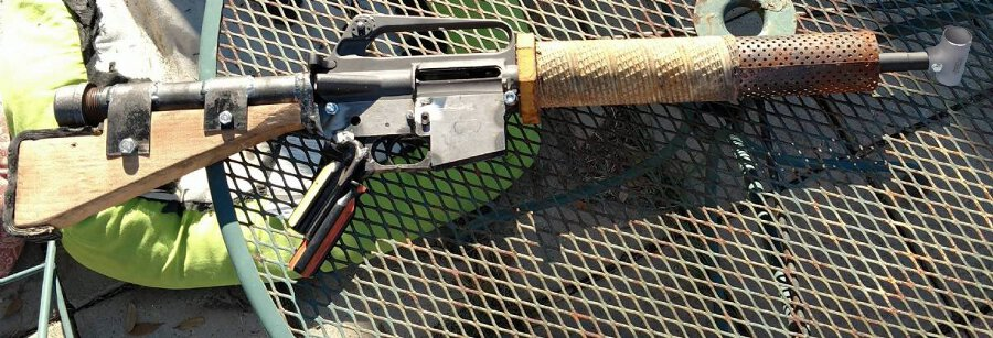Check out this Post-Apocalyptic AR Build! - GunsAmerica Digest
