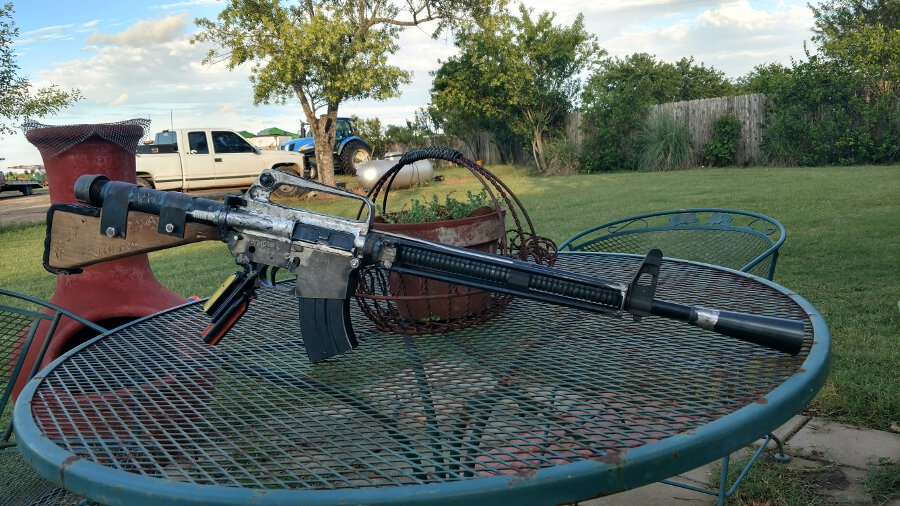 Check Out This Post Apocalyptic Ar Build Gunsamerica Digest
