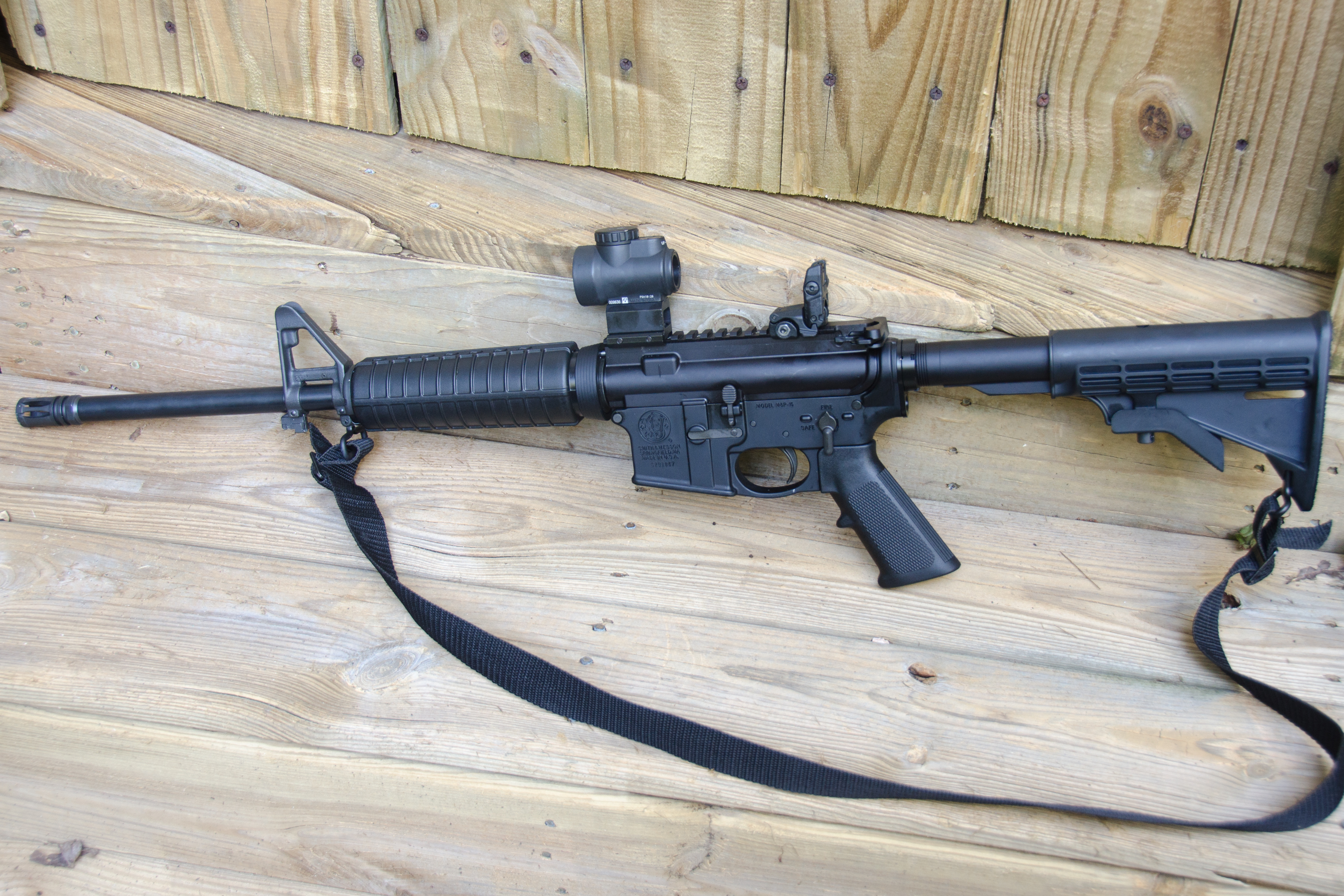 the s&w m&p 15 sport ii is a versatile rifle
