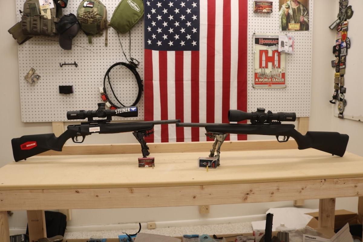 Rimfire Shootout: Savage B-Series  17 HMR vs   22 LR - GunsAmerica