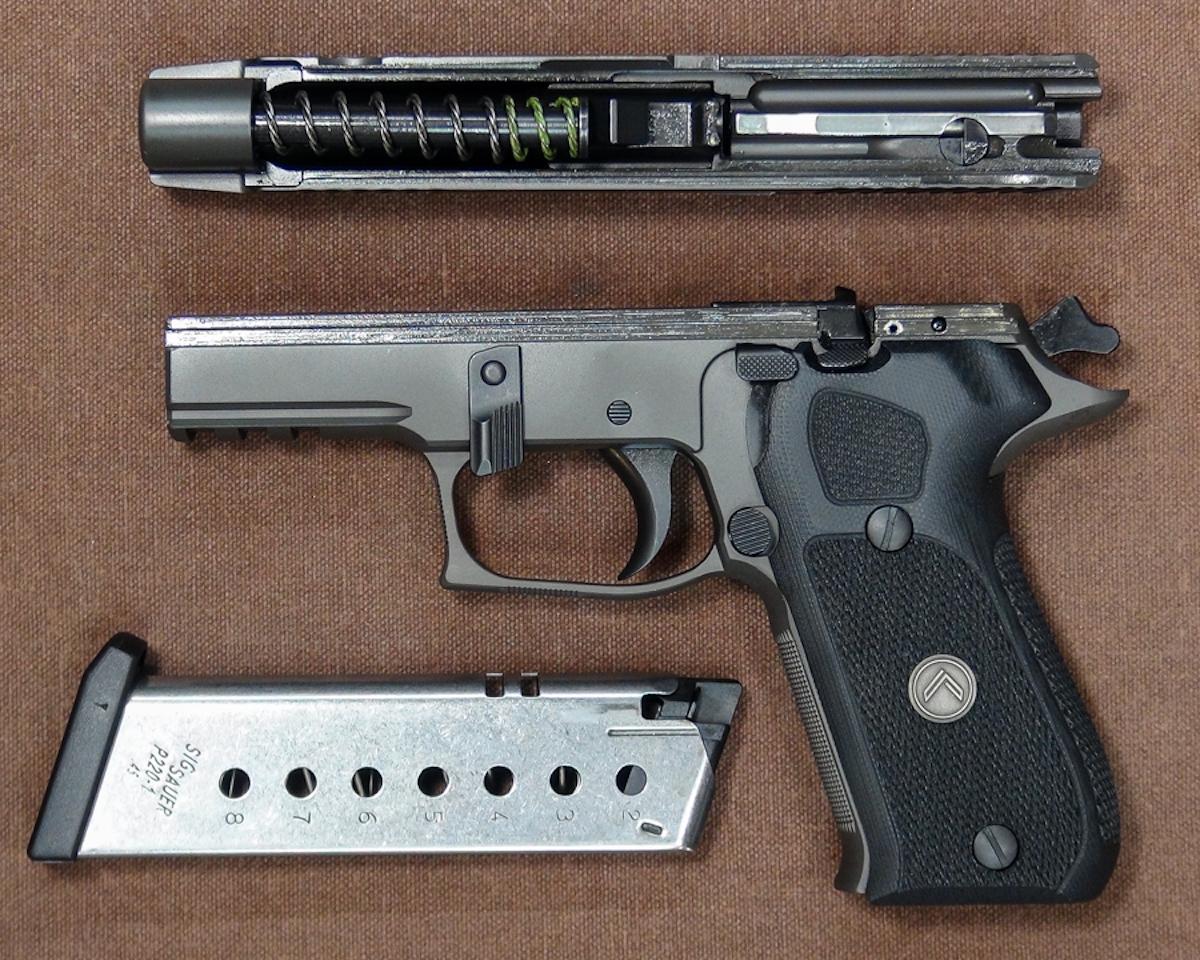 Sig Sauer S Flagship Legion Pistol Goes Big Bore The P220