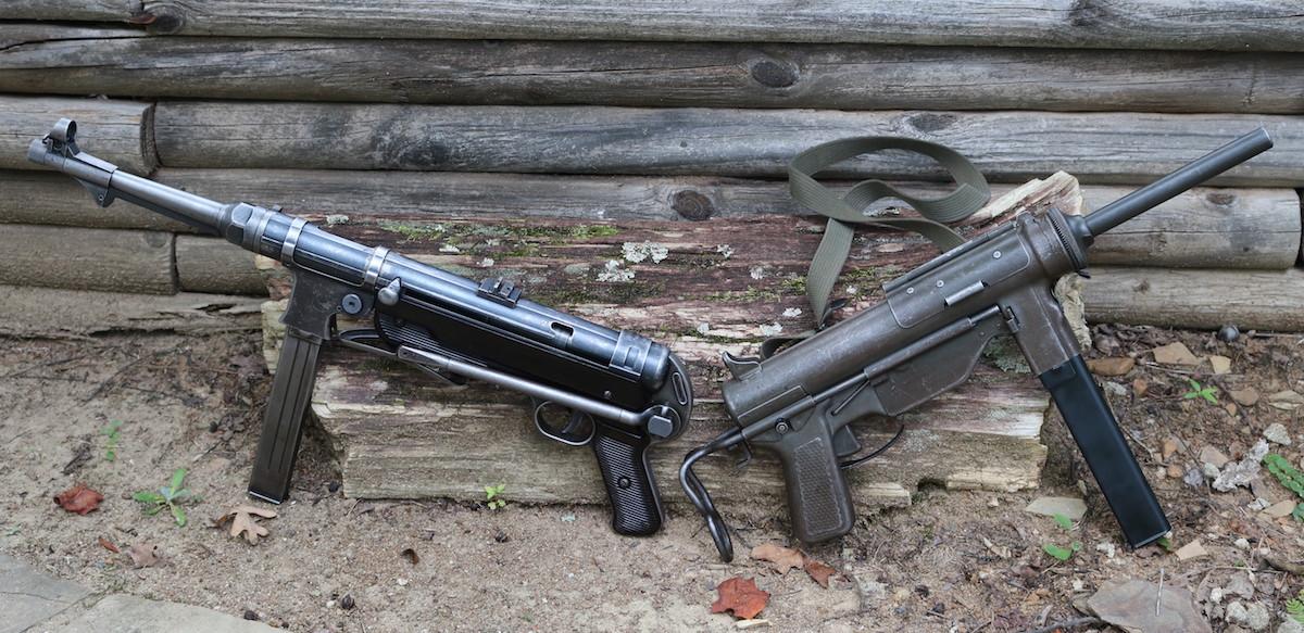 The German MP40 Versus the American M3A1 Grease Gun