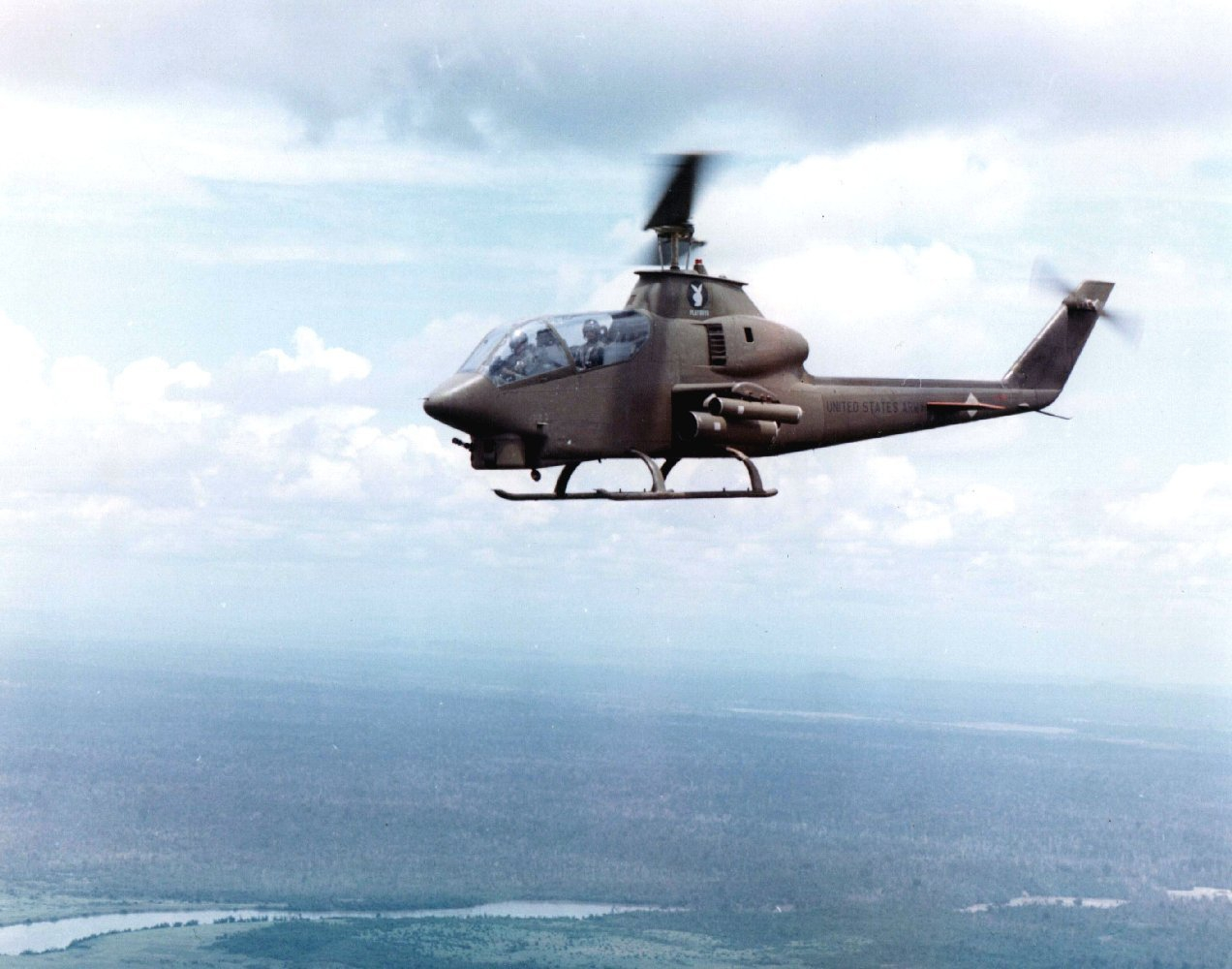 The Guns of U S  Army Aviation in Vietnam — Personal Defense