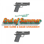 Springfield's End of Summer Giveaway: Win over $5K in Guns & Gear