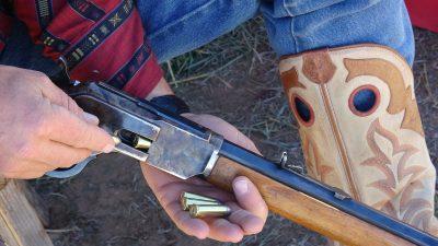 Cowboy Time Machine: Uberti Winchester 1873 - GunsAmerica Digest
