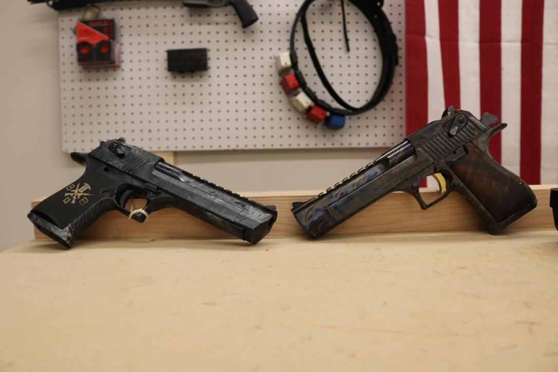 "Magnum Research .44 Magnum & .50 AE & A ""13 Hours"" Desert Eagle"