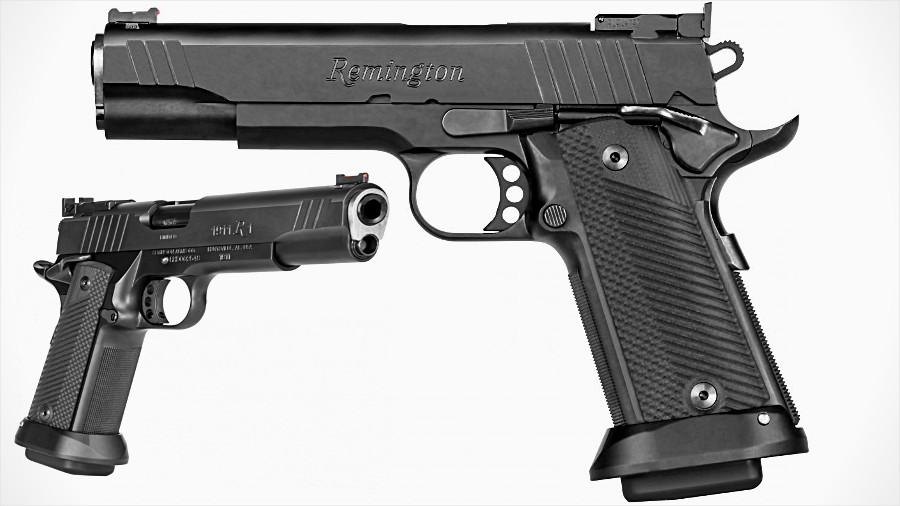 Remington Goes Hi-Cap with Double-Stack 1911, Magazine-Fed Shotguns