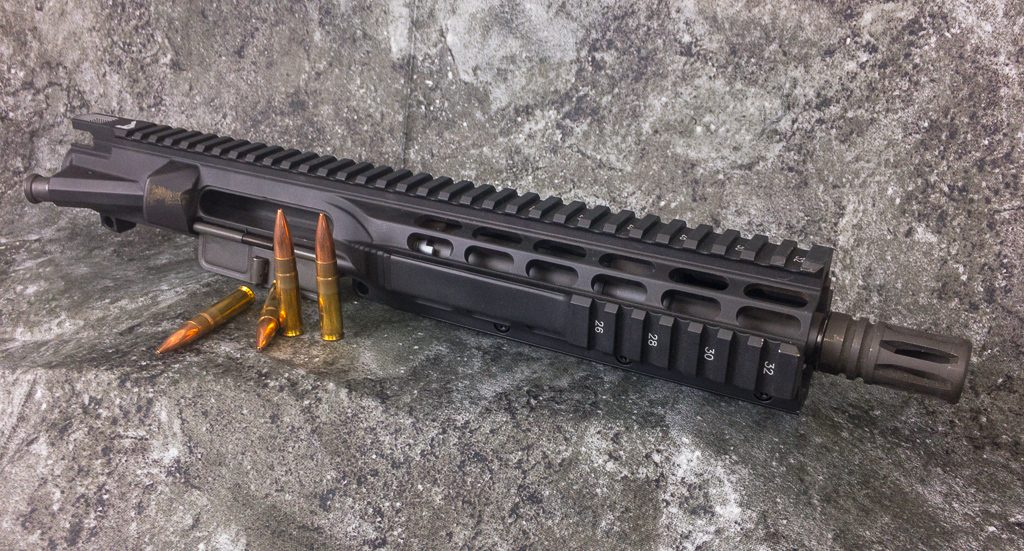 This Aero Precision upper receiver and barrel is going to make a really nifty short barrel rifle one day.