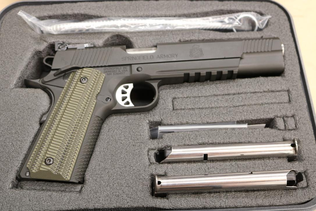 Springfield 1911 TRP Operator Now in 10mm! - Full Review