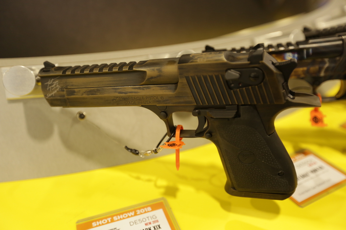 Magnum Research: New York-Legal Desert Eagle in .50AE – SHOT Show 2018