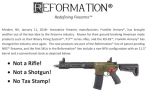 Franklin Armory to Introduce Non-NFA 11.5-Inch AR-Pattern Firearm