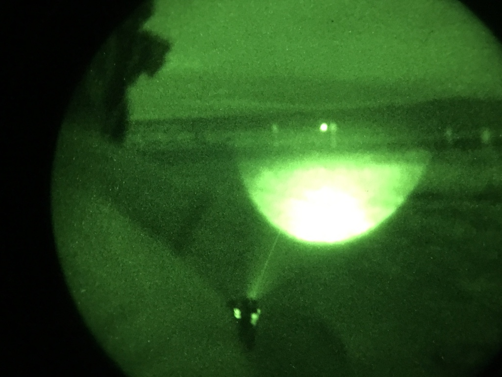 Can't See, Can't Fight! Get An Infrared Aiming Laser from US NightVision