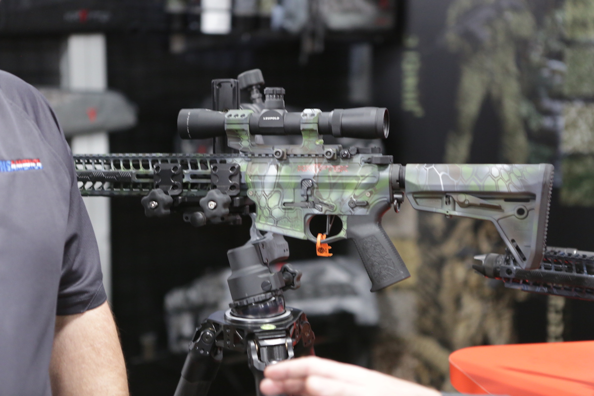 Kryptek Collaborates with Spike's Tactical on Limited Edition Rifles – SHOT Show 2018