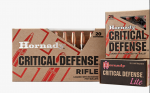 NEW: Hornady's 6.5 PRC; Subsonic SUB X and Critical Defense Rifle Ammo — SHOT Show 2018