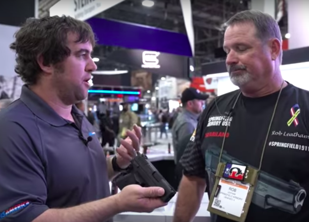 Springfield Armory XD-E in .45 ACP: The Dark Horse of the Springfield Family – SHOT Show 2018