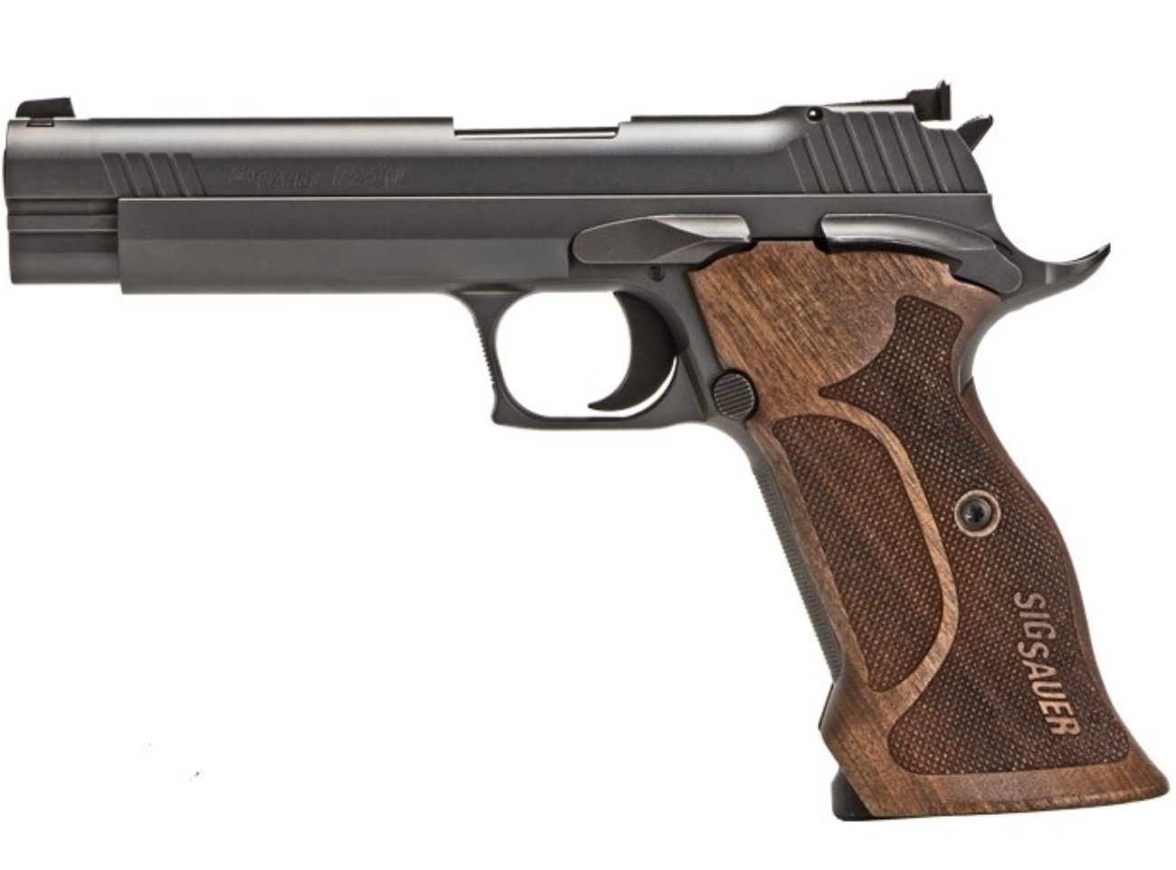 Now Made Stateside-SIG P210: Elegant Heritage & Timeless Design  — SHOT Show 2018