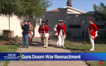 California City Tells Revolutionary War Reenactors: No Guns Allowed, Use Sticks Instead