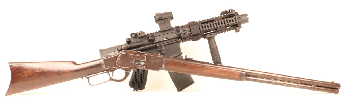 1873 Winchester – America's First Assault Weapon