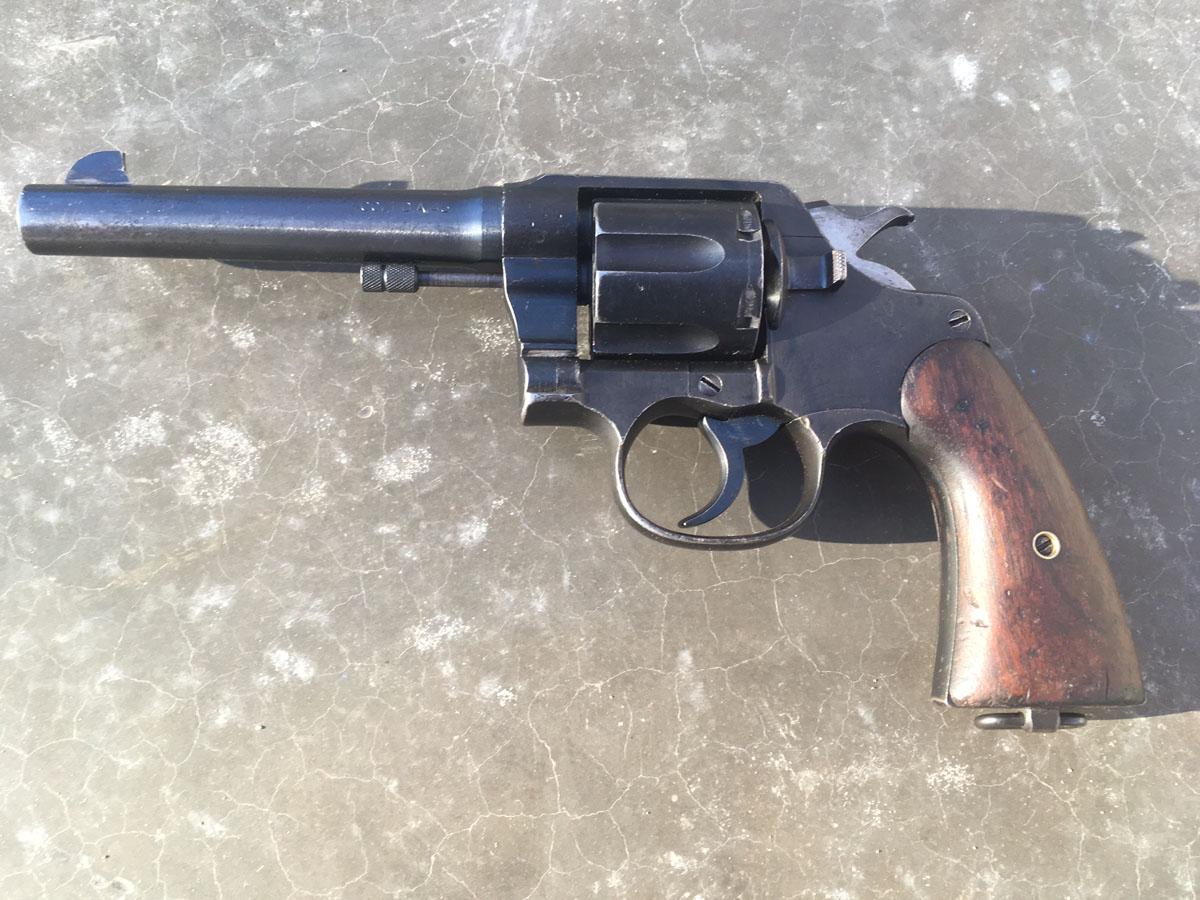 U.S. Handgun Used in Two World Wars; It Isn't a 1911