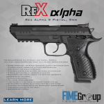 The Rex Alpha Competition Pistol is Just Around the Corner