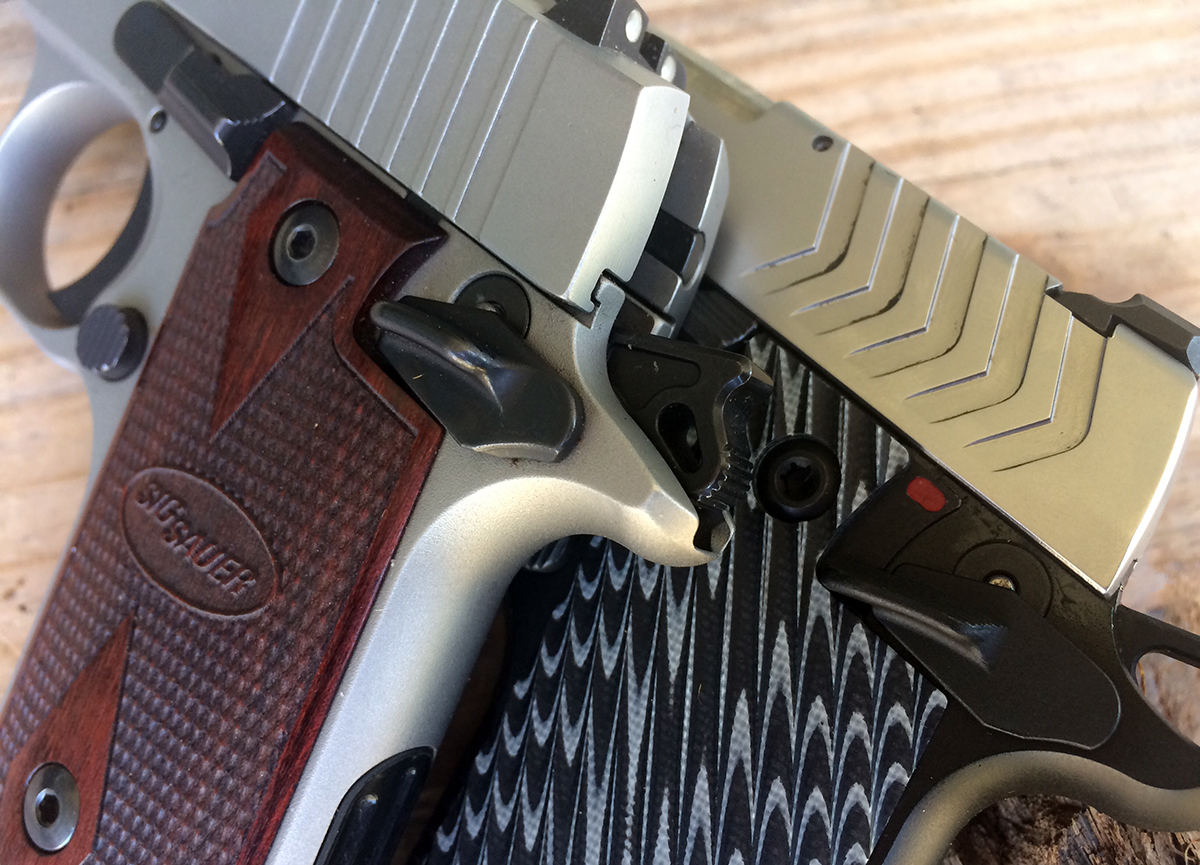 Springfields New 911 Is The 1911 Style 380 Perfected Gunsamerica Taurus 25 Acp Schematic Safety On Larger And A Bit Easier To Manipulate