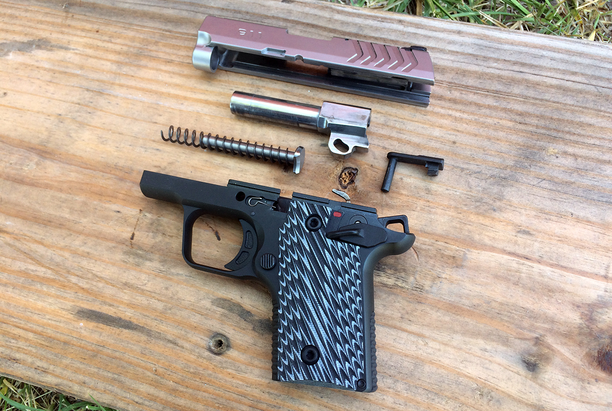 Springfields New 911 Is The 1911 Style 380 Perfected Gunsamerica Taurus 25 Acp Schematic Breakdown Easier Than On A