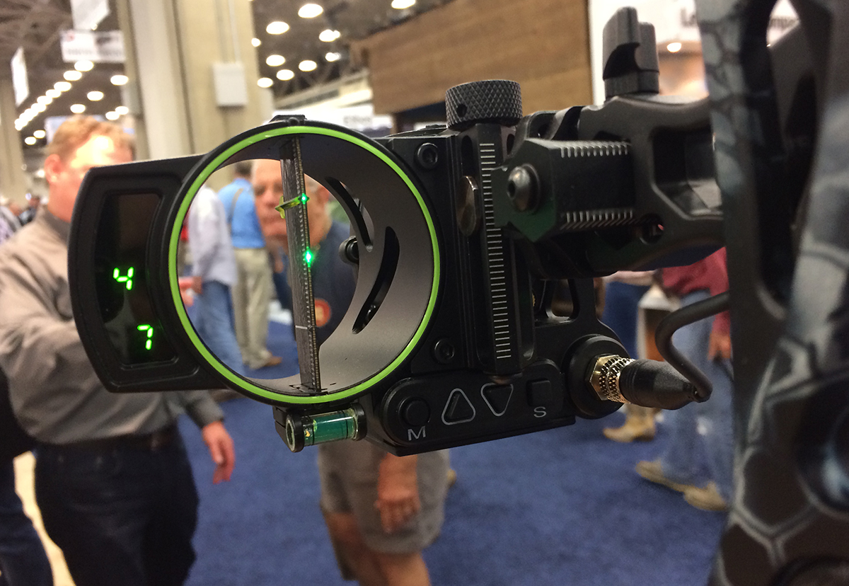 Burris Oracle Bow Sight Provides Exact Point of Aim, Ranges to 500 Yards
