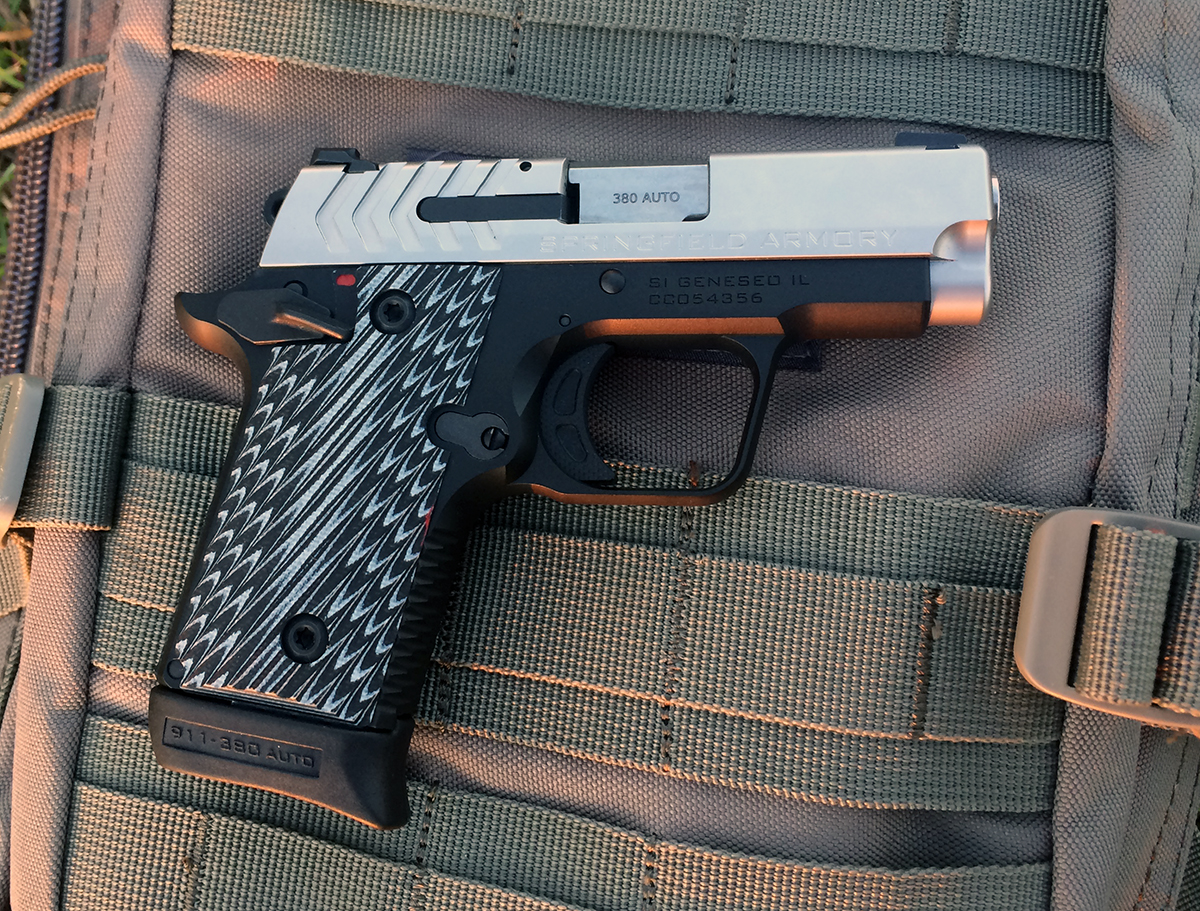 Springfield's New 911 Is the 1911-Style .380 Perfected
