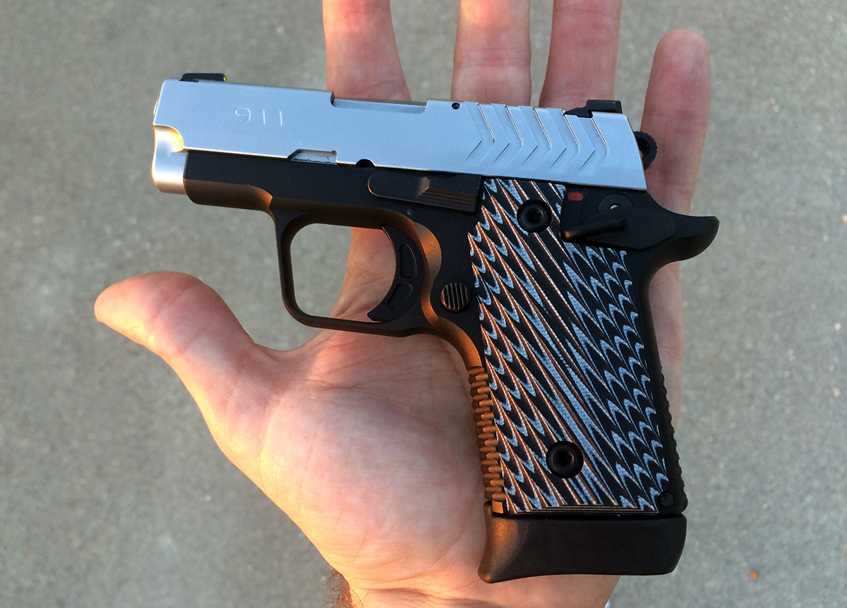 Springfield's New 911 Is the 1911-Style  380 Perfected