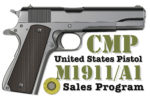 CMP: Only 8,000 1911s Will Be Up for Sale This Fiscal Year, Pricing Categories Set