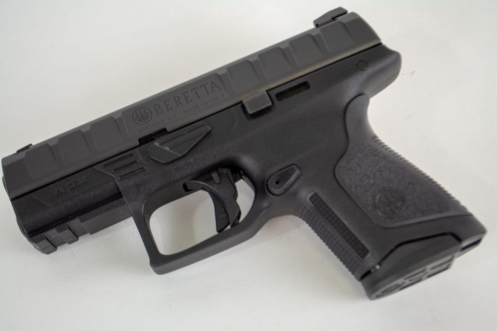 The new Beretta APX Compact chambered in 9mm.