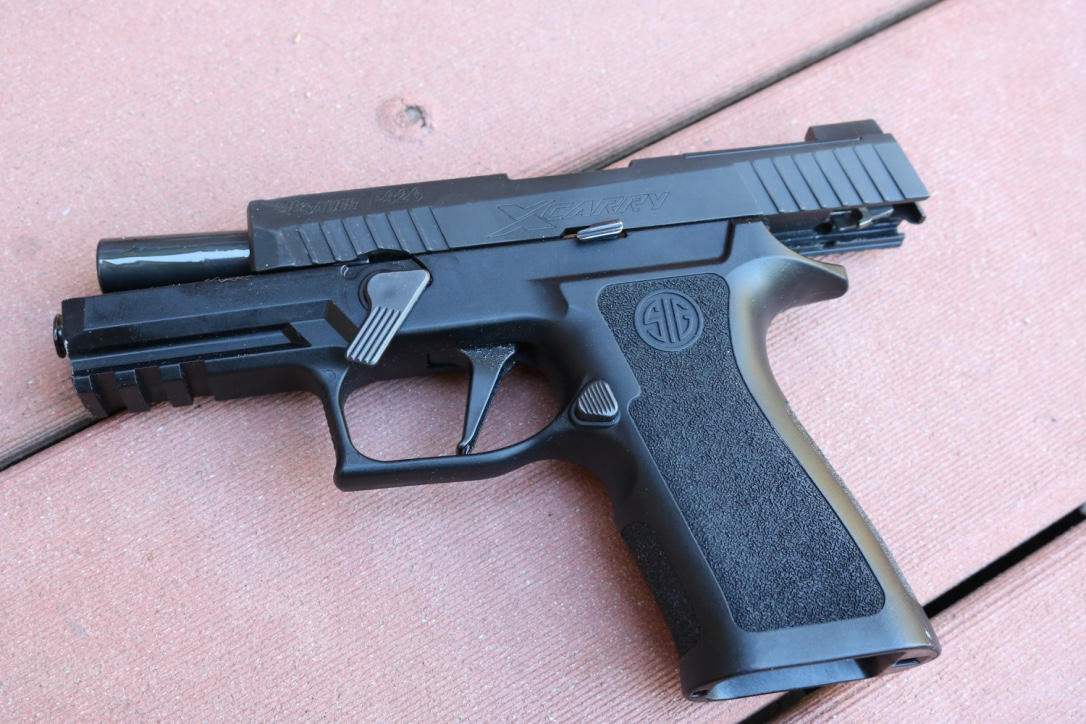 Witness the Magic Modular Chassis of the SIG P320: Change Grips