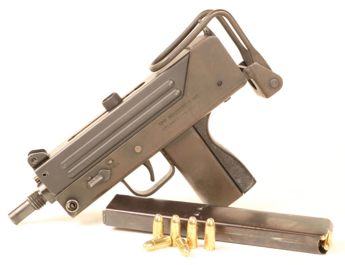 Stamped Steel Sputterguns - Uzi vs the MAC10 - GunsAmerica