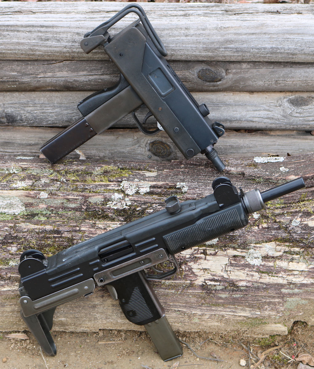 Stamped Steel Sputterguns - Uzi vs the MAC10 - GunsAmerica