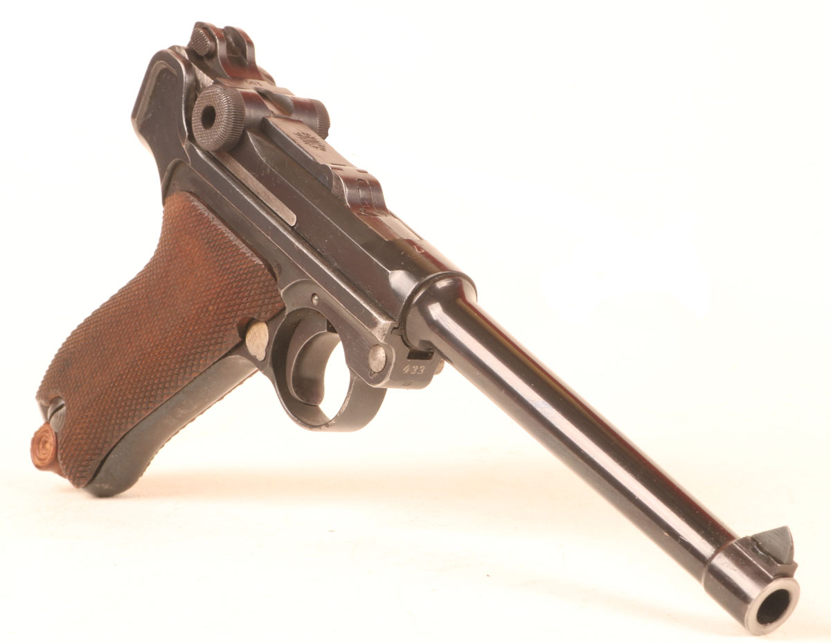 The P14 Luger Marinepistole – A German Military Handgun Designed for Ship-to-Ship Combat