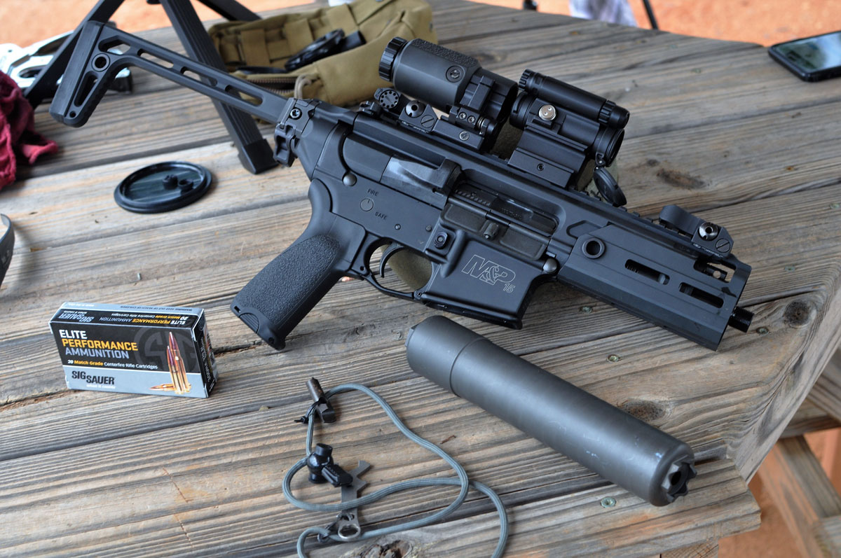 SIG/M4 Rattler – Convert Your Existing SBR To A Rattler