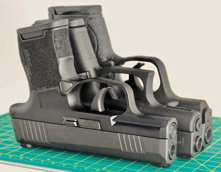 9mm Micro Shootout - Sig P365 vs  Glock 43 vs  S&W Shield